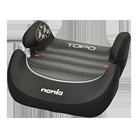 NANIA Podkładka Topo Comfort Graphic Black, 15-36 kg