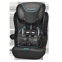 NANIA fotelik samochodowy I-MAX SP Graphic Tech, 9-36 kg