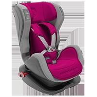 AVIONAUT fotelik samochodowy GLIDER ISOFIX 9-18kg šedo-růžová