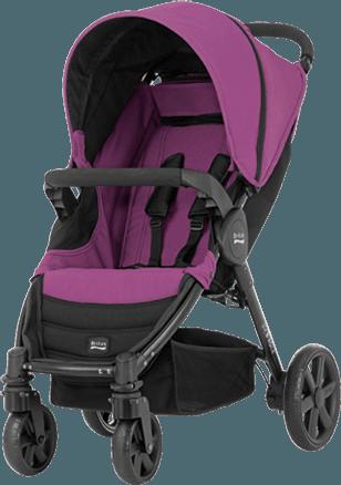 BRITAX B-Agile 4 wózek– Cool Berry