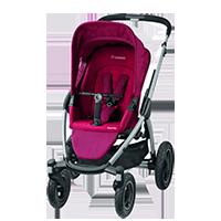 MAXI-COSI Mura 4-kołowy wózek Robin Red
